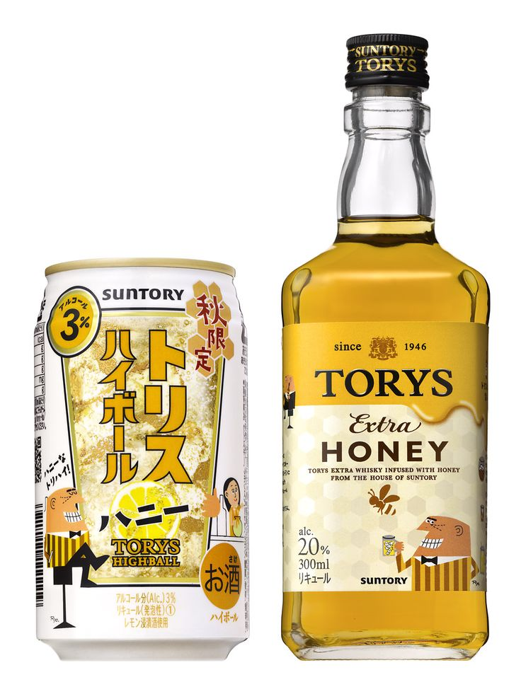 Torys Extra Honey (Liquor, 20% ABV)