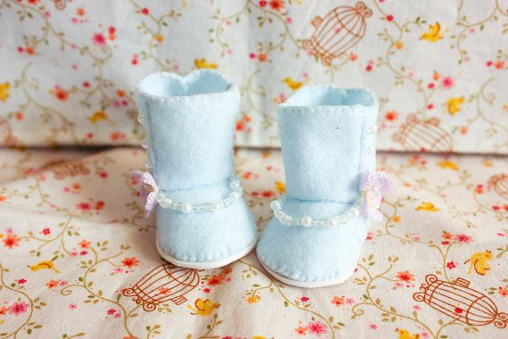 Sugar boots n.001 Littlefee/Yosd by cafelait on Etsy, $18.00