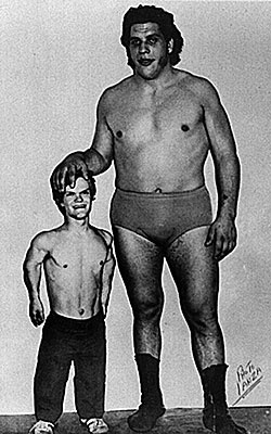 Andre the giant midget remarkable