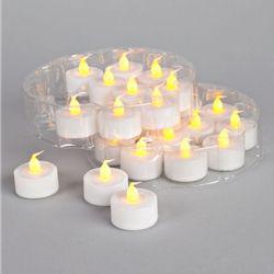 tea light candles (mimics real flame, 24 lights) $26.95