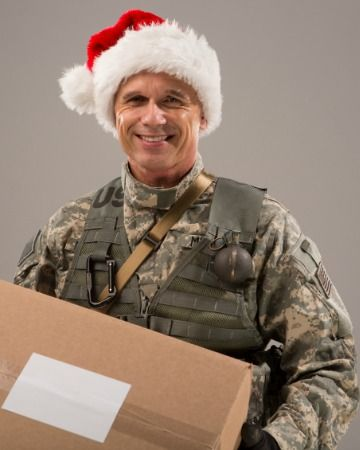 Must-haves for every military holiday care package.