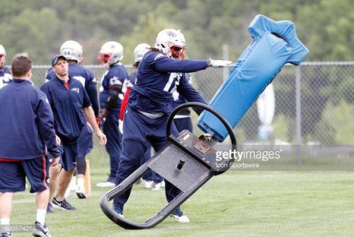 06-08 FOXBOROUGH, MA - JUNE 07: New England Patriots defensive... #rohrbachat: 06-08 FOXBOROUGH, MA - JUNE 07: New England… #rohrbachat