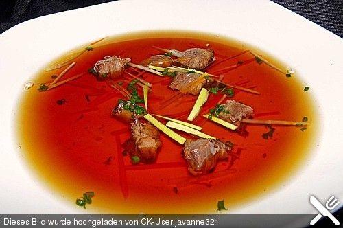 Klare Ochsenschwanzsuppe (Rezept mit Bild) von CharlotteHolmes | Chefkoch.de