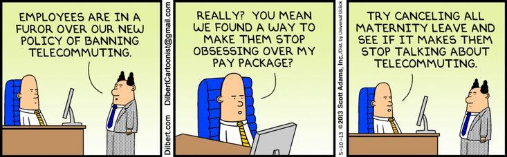 Dilbert change management tactics Human resources humor