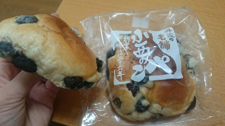 篠山の小西のパン 黒豆ゴロゴロ