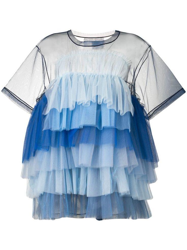 viktor rolf little ball gown tulle dress farfetch kleider tuell