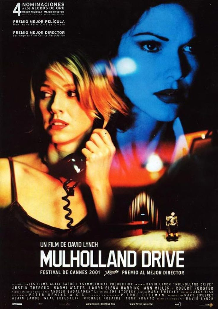 Mulholland drive, excellent movie.