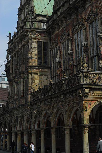 forestpines:  Alte Rathaus, Bremen on Flickr.
