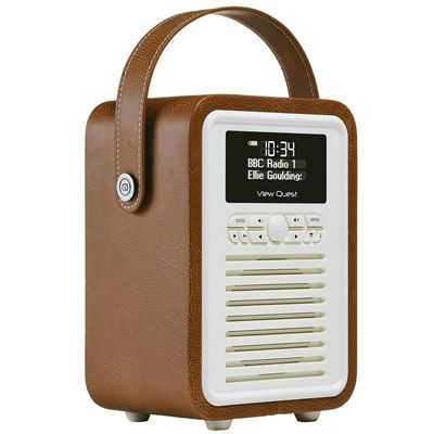 Retro radio: View Quest Retro Mini DAB+/FM radio with bluetooth