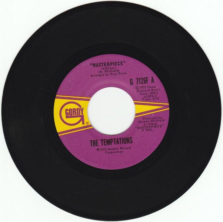 1973       MASTERPIECE      -   THE  TEMPTATIONS #RocknRoll