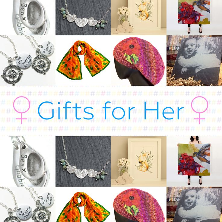 Beautiful Gifts for Her from the talented Craft Hour creatives!