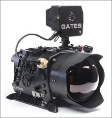 Gates DEEP Epic and Scarlet housing for rental for use with the RED Epic and Scarlet cameras. The housing comes with the flat port or dome port (per user request) plus one port extender. Rental price is $750/day