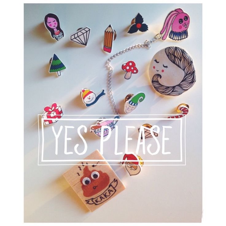 HappyMarker on Etsy - Shop Updates #pin #collarpin #cute #lovely #poo #girl #mushroom #rabbit #tea #diamond #santa #snowman #handmade #gift #christmas #hip #fashion #hipster #yes #illustration #custom #special #sale #shop