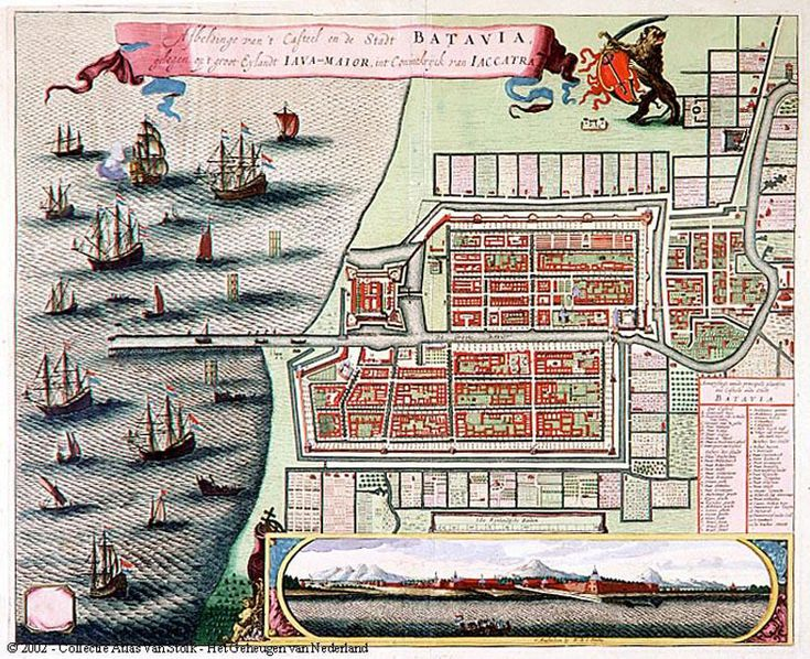 fort, voc,dutch east indies, oost indie, nederlands indie, batavia