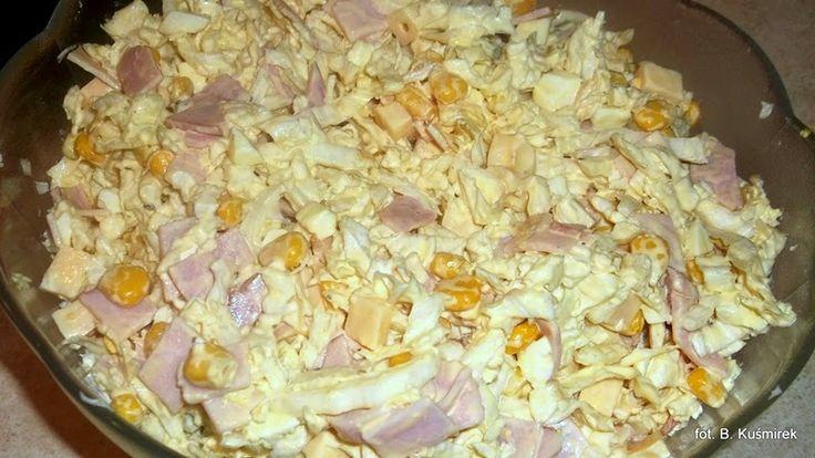 Bea(u)ty kitchen: Sałatka z kapusty pekińskiej