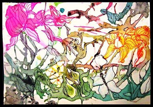 весна в джунглях