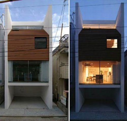 LA CASA SANDWICH ARQUITECTURA JAPONESA : Ryoichi Kojima