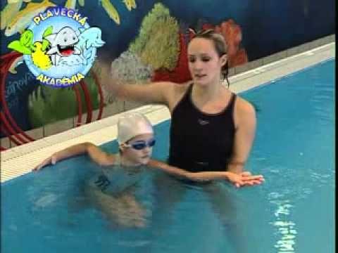 Nácvik splývania - Plávanie detí - ako naučiť dieťa plávať - VIDEO Ako sa to robí.sk
