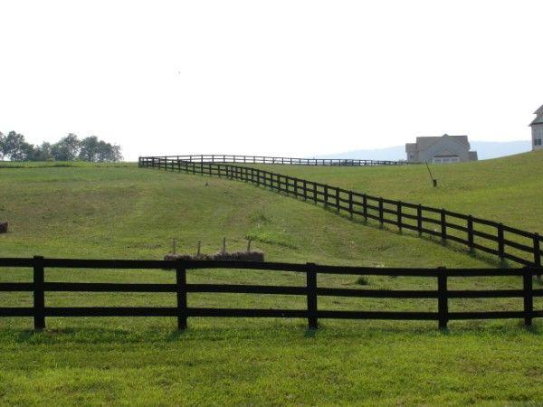 Wood Farm Fence