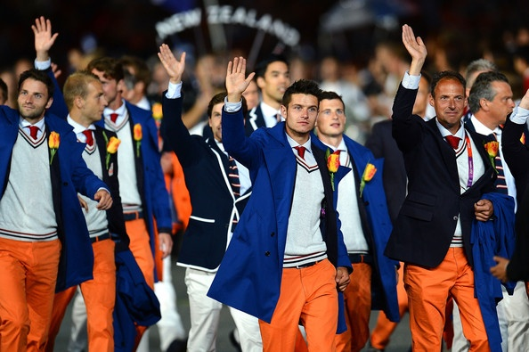 dutch kit at the 2012 Olympic Games - Opening Ceremony