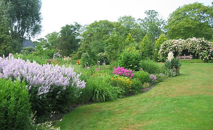 Beplantingsplan smalle border google zoeken bloemen for Tuin inrichten planten