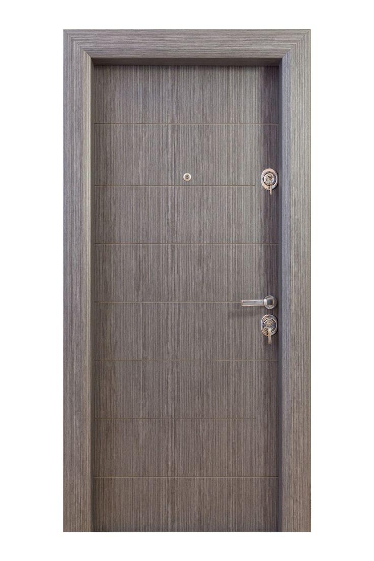 ARTADOOR Metalic Door with Mdf