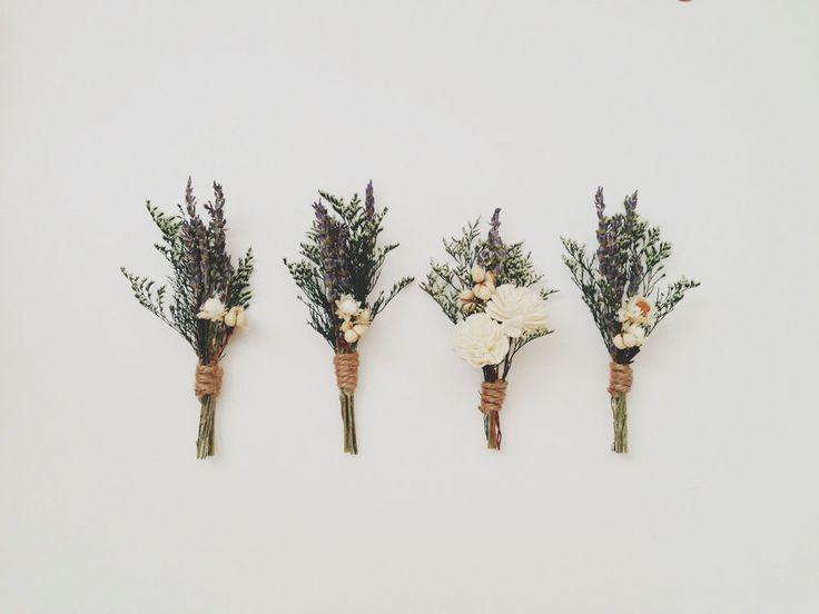 themodernexchange: Lavender Boutonniere Pin | Three Little Birds 1222 on Etsy