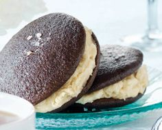 Whoopie Pies with Salted Caramel Cream
