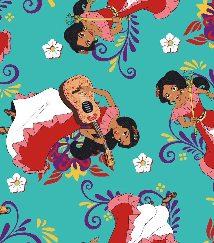 "Disney® Elena of Avalor Fleece Fabric 59""-Make Magicnull"