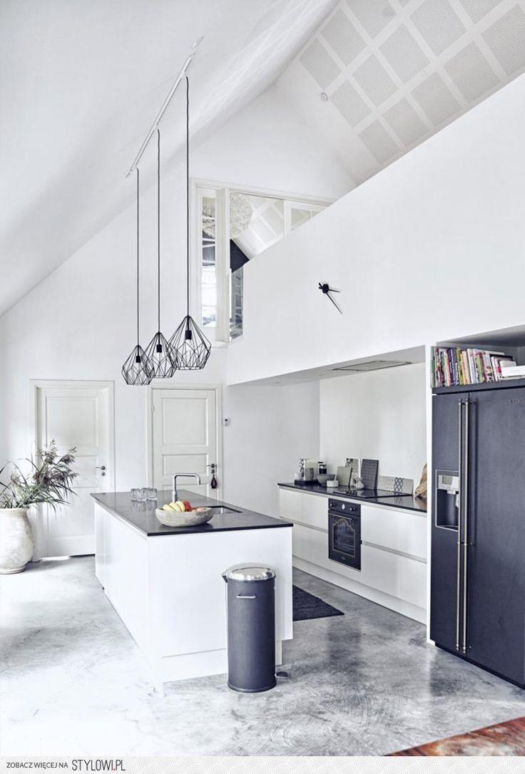 loft kitchen - Galeere Kche Beleuchtung Ideen Bilder