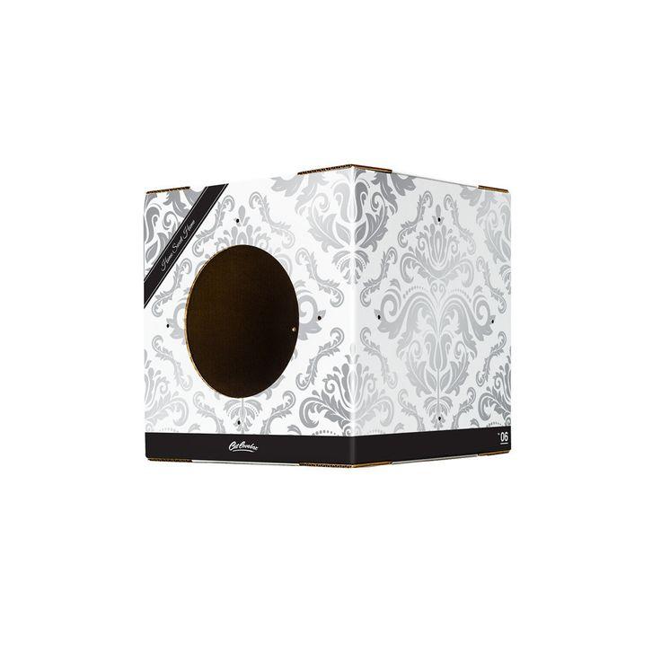Single Wallpaper print Cat Box
