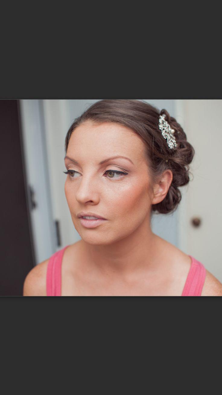 Natural bridal makeup www.makeupandhairbyhannah.com
