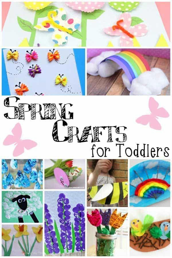 Easy Simple Spring Crafts For Toddlers To Make And Do With You At