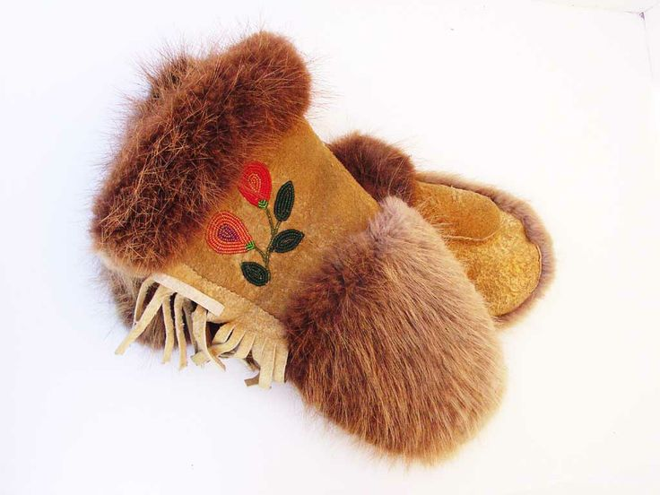 Canadian Indian Gloves c. 1900 | Kilgore American Indian Art
