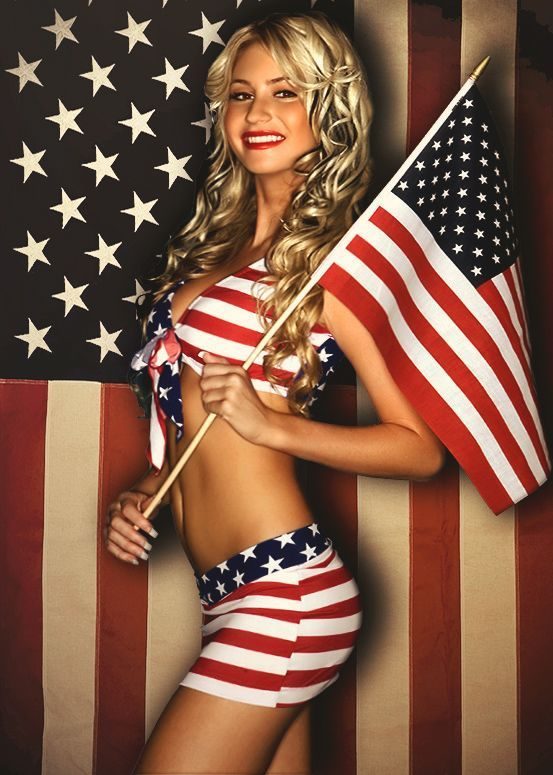 Check out our hot red, white and blue bikini girls and be safe this holiday weekend! Description from buzzcontrol.com. I searched for this on bing.com/images