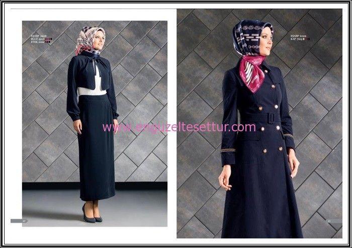 http://www.enguzeltesettur.com/armine-2015-kis-koleksiyonu-yeni-sezon-katalogu/ #marine #marin #denizci #lacivert #koyumavi #gold düğme #altındüğmeler #takım #kombin #etek #bolero #ceket #armine #kışlık #kap #gömlek #tesettür #giyim #kapalıbayan #muslimah #fashion #hijab #abaya #turkish #trenchcoat #trençkot