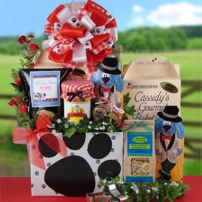 26 best pet gift basket images on Pinterest | Gift basket ideas ...