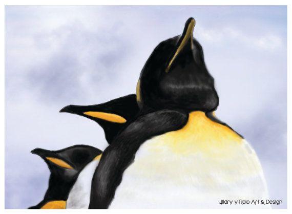 King Penguin por UildriyRolo en Etsy