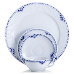 China and Dish Patterns--Royal Copenhagen 'Princess Blue'