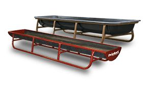 Available in 5' and 10' lengths, Priefert offers a variety of bunk feeders for the cattle industry. These are excellent feeders for multiple livestock use.