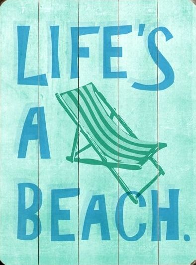 Vintage Beach Wood Signs with Sayings – Beach Bliss Living - Decorating and Lifestyle Blog.