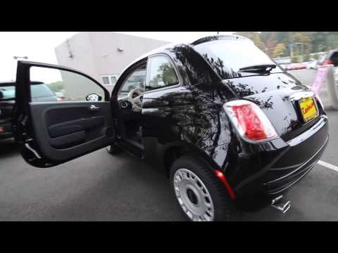 DT745499 | 2013 Fiat 500 Pop | Rairdon's FIAT of Kirkland | Black