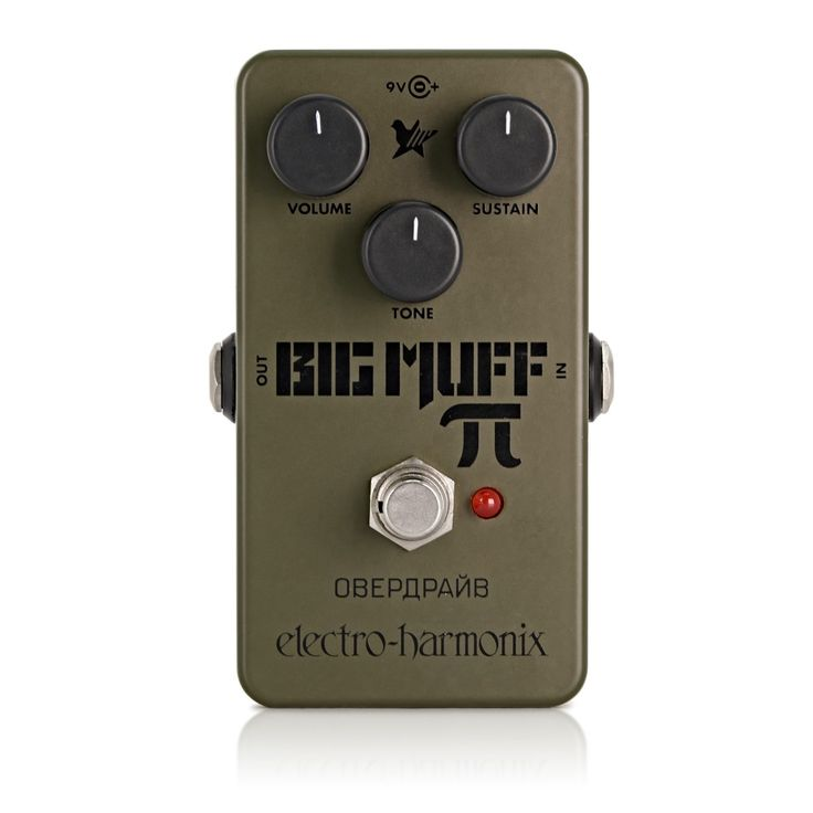 Electro Harmonix Green Russian Big Muff Distortion Pedal på Gear4Music.com
