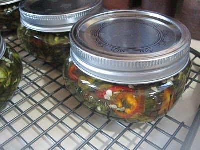 Candied Jalapenos : O.M.G!  I have been looking for this recipe!  These things are to die for!  Put a little cream cheese on a Tostito chip & top w/ a pepper...Mmmmmm!!!!!!!!!
