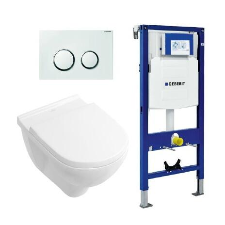 Ikke førstevalg 3900:- kampanje fra VB  Villeroy & Boch O.nova veggskål+ cisterne.  Geberit Pakketilbud på vegghengt toalett fra Varme & Bad