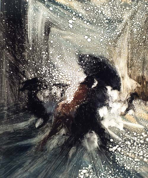 Bill Jacklin, Black Umbrella V, 2007. Gosh - find more by Bill Jacklin!