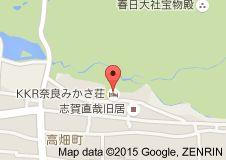 Map of KKR奈良みかさ荘