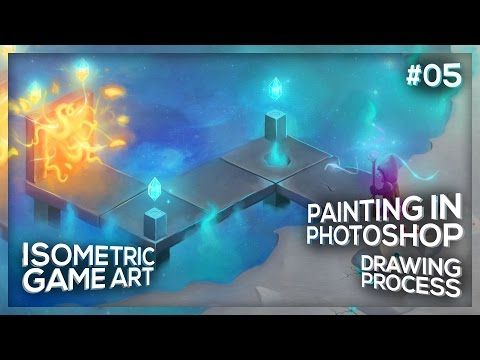 Wagwan. In this video I share the time-lapse drawing process from a portal alien environment digital painting I created. I used a Wacom Bamboo drawing tablet...