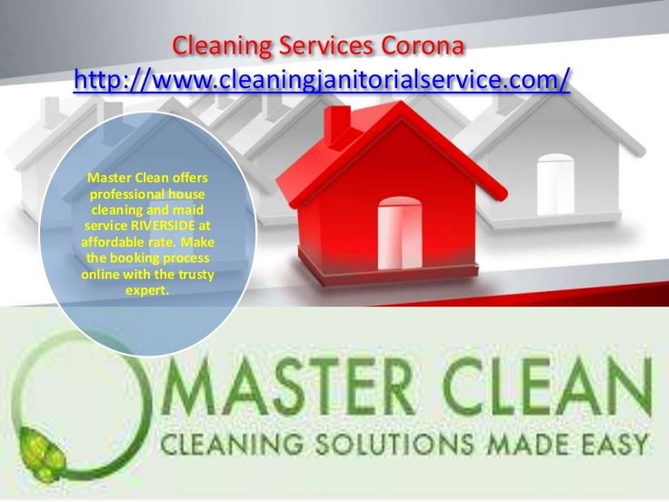Home Maid Cleaning:  Get fully insured and guaranteed home maid cleaning services at reasonable rates with Master Clean, the trustworthy residential cleaning service RIVERSIDE.