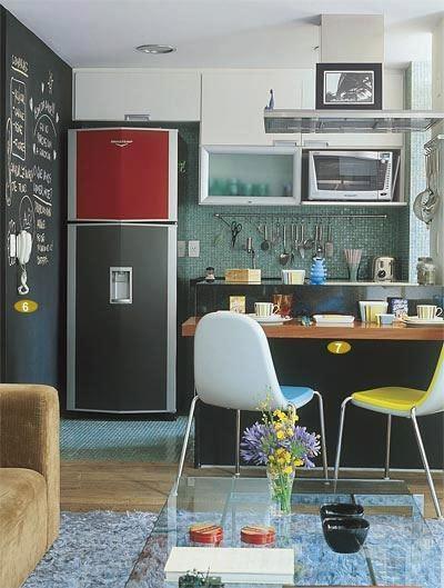 Idéia de decoração para apartamentos...dorei!